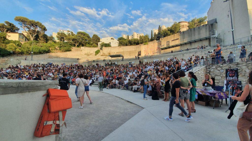 théâtre sylvain pour le Marseille jazz des 5 continents.